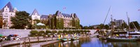 """Empress Hotel, Vancouver Island, Canada by Panoramic Images - 36"""" x 12"""""""