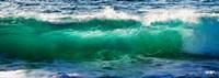 Wave splashing on the beach, Todos Santos, Baja California Sur, Mexico Fine Art Print