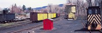 """Old train terminal, Chama, New Mexico by Panoramic Images - 37"""" x 12"""""""