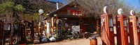 """Old Frontier Gas Station, Embudo, New Mexico by Panoramic Images - 37"""" x 12"""""""