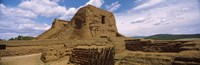 """Close up of church ruins, Pecos National Historical Park, New Mexico, USA by Panoramic Images - 37"""" x 12"""""""