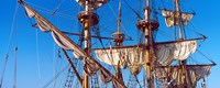 """Rigging of a tall ship, Finistere, Brittany, France by Panoramic Images - 30"""" x 12"""" - $34.99"""