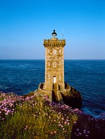 """Lighthouse at the coast, Kermorvan Lighthouse, Finistere, Brittany, France by Panoramic Images - 12"""" x 16"""""""