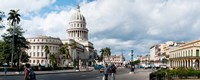 """Government building in a city, El Capitolio, Havana, Cuba by Panoramic Images - 30"""" x 12"""" - $34.99"""