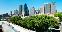 """Skyscrapers in a city, Cumberland Street, Sydney, New South Wales, Australia by Panoramic Images - 23"""" x 12"""", FulcrumGallery.com brand"""