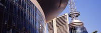 """Low angle view of Bridgestone Arena, Nashville, Tennessee, USA by Panoramic Images - 36"""" x 12"""""""