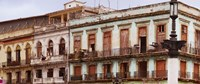 """Low angle view of buildings, Havana, Cuba by Panoramic Images - 29"""" x 12"""""""