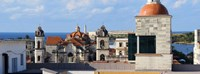 """Traditional buildings of Havana, Cuba by Panoramic Images - 32"""" x 12"""""""