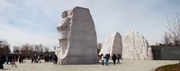 """People at Martin Luther King Jr. Memorial, West Potomac Park, The Mall, Washington DC, USA by Panoramic Images - 30"""" x 12"""" - $34.99"""