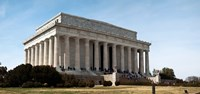 Facade of the Lincoln Memorial, The Mall, Washington DC, USA Fine Art Print