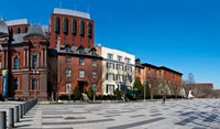 "Buildings in a row at Lafayette Square, Washington DC, USA by Panoramic Images - 20"" x 12"""