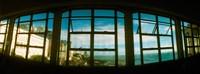 "Coast viewed through from a window of Lacerda Elevator, Pelourinho, Salvador, Bahia, Brazil by Panoramic Images - 32"" x 12"""