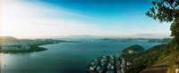 """Rio de Janeiro viewed from Sugarloaf Mountain, Brazil by Panoramic Images - 29"""" x 12"""""""
