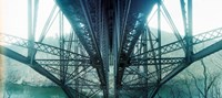 """Underside of a bridge, Hudson Valley, New York State, USA by Panoramic Images - 27"""" x 12"""""""