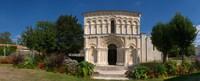 "Facade of a Roman church, Echillais, Charente-Maritime, Poitou-Charentes, France by Panoramic Images - 30"" x 12"""