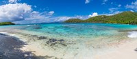 "Hawksnest Beach, St. John, US Virgin Islands by Panoramic Images - 28"" x 12"""