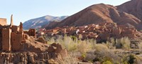 """Village in the Dades Valley, Morocco by Panoramic Images - 27"""" x 12"""""""