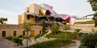 """Hotel Marques de Riscal, Elciego, La Rioja, Spain by Panoramic Images - 24"""" x 12"""" - $34.99"""
