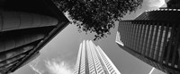 """Low angle view of skyscrapers, San Francisco, California, USA by Panoramic Images - 29"""" x 12"""""""