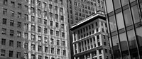 """Low angle view of office buildings, San Francisco, California by Panoramic Images - 29"""" x 12"""""""