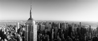 Empire State Building, Manhattan, New York City (black & white) by Panoramic Images - various sizes