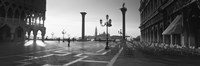 Saint Mark Square in Black and White, Venice, Italy by Panoramic Images - various sizes