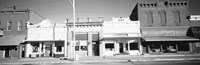 Store Fronts, Main Street, Small Town, Chatsworth, Illinois (black and white) by Panoramic Images - various sizes - $32.99