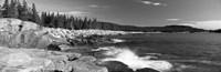 Waves breaking on rocks at the coast, Acadia National Park, Schoodic Peninsula, Maine, USA by Panoramic Images - various sizes, FulcrumGallery.com brand