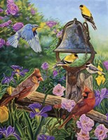 Garden Melodies by Cory Carlson - various sizes, FulcrumGallery.com brand
