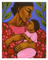 African Mother and Baby Fine Art Print