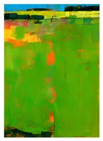 Green Field Fine Art Print