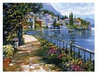 Sunlit Stroll Fine Art Print