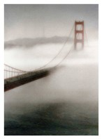 The Fog Comes In Fine Art Print