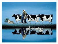 """34"""" x 26"""" Cow Pictures"""