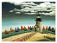 Rainbow Fleet Fine Art Print