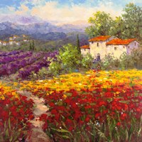 Fleur du Pays II Fine Art Print