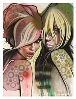 Two Betties Fine Art Print