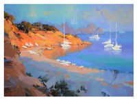 Evening Boats Fine Art Print