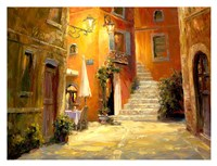 Lighted Alley Fine Art Print