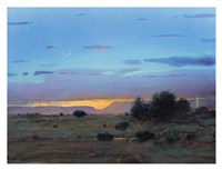High Mesa Rainstorm Fine Art Print