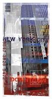 New York Sky II Framed Print