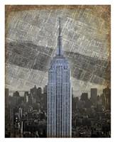 New York Empire State Building II Framed Print