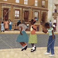 Double Dutch by Phyllis Stephens - various sizes