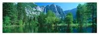 Yosemite Falls & Merced Fine Art Print