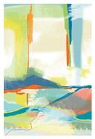 Deconstructed Landscape 4 Framed Print