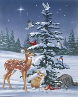 Christmas Gathering Fine Art Print