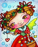 Holly and Snow by Jennifer Nilsson - various sizes
