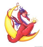 StarShine (Red Dragon) Fine Art Print