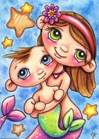 My Sister & Me by Jennifer Nilsson - various sizes