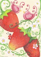 Strawberry Afternoon by Jennifer Nilsson - various sizes